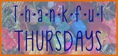 Thankful Thursdays - Thankgsgivikkuah edition!