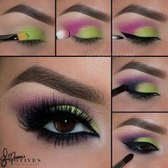 Green And Purple,A Special Eyeshadow Inspiration