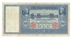 Reichsbanknote 21.04.1910 über 100 Mark Reichsmark, Deutschland   eBay Ebay, Paper, Money, Germany