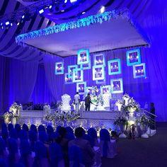 "Saina Nehwal Married Her ""Perfect Match"" & Their Wedding Photos are Super Adorable! Indian Wedding Receptions, Desi Wedding Decor, Wedding Hall Decorations, Wedding Stage Design, Tent Decorations, Wedding Mandap, Wedding Set Up, Wedding Photos, Wedding Backdrops"