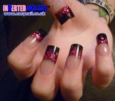 Gel nails   nail powder/ acylic   Pinterest