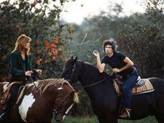 Keith Richards & Patti Hansen