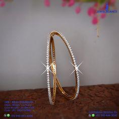 Real Diamond 18k Luxury Design Diamond Bangle, Diamond Pendant, Diamond Jewelry, Diamond Earrings, Plain Gold Bangles, Bold Necklace, Pendant Design, Jewelry Patterns, Necklace Designs