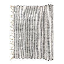 Thin Stripe Teppich 60x90 cm, Schwarz/Weiss