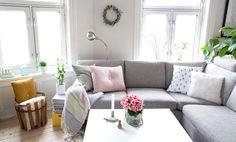 Spring interior, livingroom, my home @ Kreativ-i-tetblogg.com