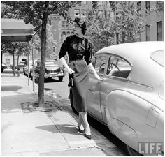 Fashion Pattern July 1949 Photo Nina Leen a