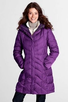 Women's Regular f(x)  Down Coat - Clover Flower, M