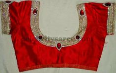 Silk Blouses in Simple Designs | Saree Blouse Patterns