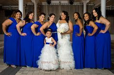 Gorgeous ladies in blue . Image by Joshua Dwain Photography