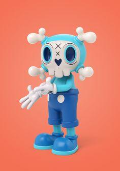Teodoru Badiu on Behance Kids Cartoon Shows, Neo Pop, 3d Artist, Smurfs, Character Design, Behance, Concept, Drawings, Fictional Characters