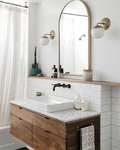 Dream Home Interior .Dream Home Interior Bad Inspiration, Bathroom Inspiration, Bathroom Inspo, Bathroom Ideas, Bathroom Designs, Bathroom Interior Design, Home Interior, Design Bedroom, Cheap Home Decor