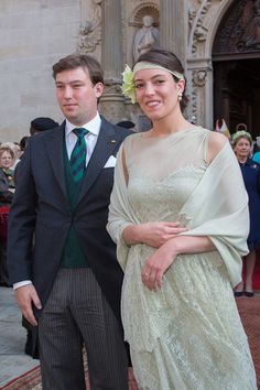 Prince Sebastien and Princess Alexandra of Luxembourg assist National Day on June 23, 2015 in Luxembourg, Luxembourg