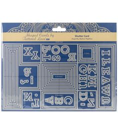 Tattered Lace Metal Die-Shutter Card