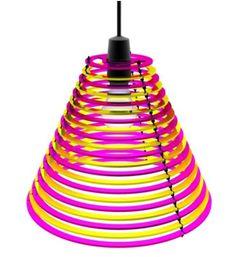 Elegant Colorful Ring Lamp Shade