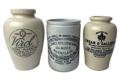 English Advertising Jugs,   S/3