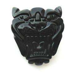 Jaguar Grill Badge BLACK