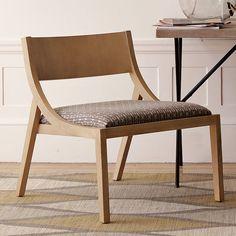 Allegra Hicks Arc Chair - Comma Print | west elm