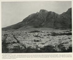 The Devil's Peak, Cape Town   South Africa by The National Archives UK Dennis Edwards, Cape Town South Africa, National Archives, Submarines, Historical Pictures, World War I, Hiking Trails, Vintage Photos, Devil