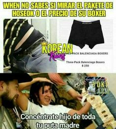 Read bts on crack momos from the story ✠ memes & santa ramona✠ by (gissela gomez) with 195 reads. Memes Bts Español, Funny Memes, 2017 Memes, Hoseok Bts, Bts Jungkook, Drama Memes, Rap Lines, Bts Lockscreen, Bts J Hope