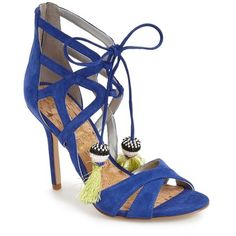 341b7758f online shopping for Sam Edelman  Azela  Tassel Lace-Up Sandal (Women) from  top store. See new offer for Sam Edelman  Azela  Tassel Lace-Up Sandal  (Women)