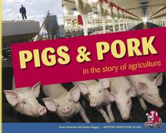 Fun facts and photographs all about the role of pigs and pork in agriculture's story