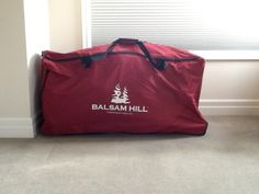 Keep your tree safe and secure with Balsam Hill's Storage Bag.