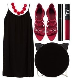 """""""street style"""" by sisaez ❤ liked on Polyvore featuring Azalea, J.Crew, Zara, Charlotte Olympia, NARS Cosmetics and Chanel"""