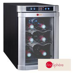 La vinoteca VN6B es un electrodoméstico de pequeñas dimensiones (vinoteca pequeña), recomendado para colocar en espacios reducidos o para una colección reducida de botellas. Es ideal para enfriar, refrescar y cuidar el vino, con capacidad máxima de 6 botellas.