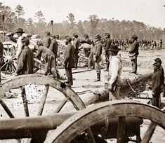 Fair Oaks, Virginia,vicinity. Federal battery. 1862