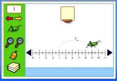 Vele tools voor het oefenen met de getallenlijn! Ook met sommen erbij