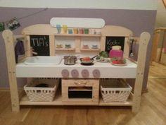 Kinderküche selber bauen toom  toom Kreativwerkstatt - Spielküche
