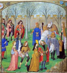 Dancing Carolle | by petrus.agricola...I want to know what's going on with the black and tawny dress on the far right!