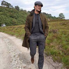 David Gandy Style, David James Gandy, Male Model Names, Male Models, Men Closet, Italian Fashion Designers, Raincoat, Leather Jacket, Mens Fashion