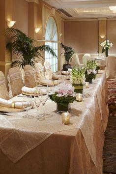 Salon Paris Wedding Head Table