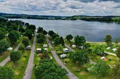 Camping Waging am See, Oberbayern, Deutschland