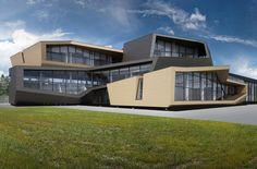 za bor architects istra tennis designboom