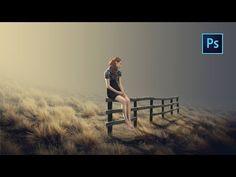 Photoshop Manipulation Tutorial - Dramatic Alone - YouTube