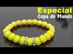 Passo a Passo #75: Pulseira   Especial Copa do Mundo - YouTube