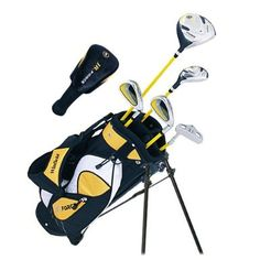 Winfield Junior Force Kids Golf Clubs Set / Ages 5-8 Yellow / Right-Hand http://suliaszone.com/winfield-junior-force-kids-golf-clubs-set-ages-5-8-yellow-right-hand/