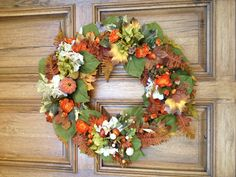 Fall wreaths for sale!