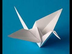 [TUTO] Origami Grue (Oiseau) Tutoriel FR - YouTube