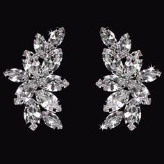 En Vogue Bridal Accessories - Bridal Earrings | E1761…