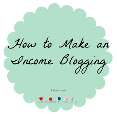 How to Make an Income Blogging