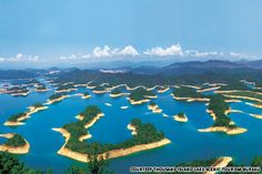 Thousand Island Lake in Hangzhou. So not technically in Shanghai but with the high-speed train I think I'll count it