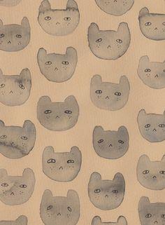 andreakang:  Cat Pattern