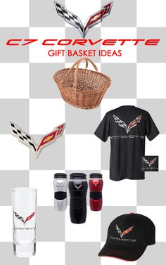 Gift Basket Ideas - C7 Corvette    To view and order, visit: http://store.corvettemuseum.com/SearchResult.aspx?CategoryID=183