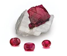 "The Ruby ""King of Precious Stones"" Most Valuable Gem of All.  Puts off a very powerful, passionate, determined energy. said to be related to  Base Chakra."