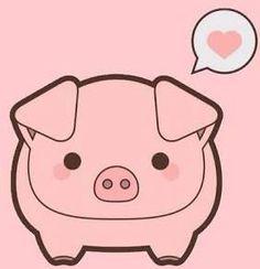 Chamchito Kawaii >w< 365 Kawaii, Kawaii Pig, Kawaii Cute, Kawaii Drawings, Cute Drawings, Barnyard Animals, Cute Animals, Pig Wallpaper, Birthday Wallpaper