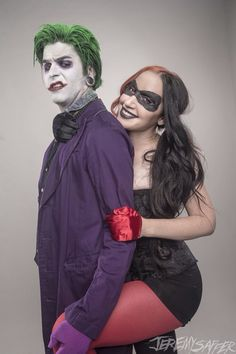 Ash and Nikki Misery as Harley Quinn and The Joker