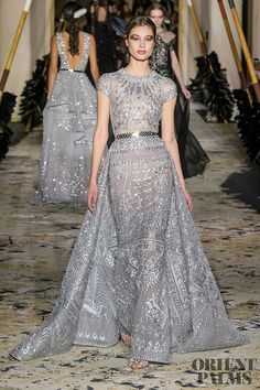 Murad Haute Couture Spring 2018 Runway See all the Zuhair Murad Haute Couture Spring 2018 looks from the runway.See all the Zuhair Murad Haute Couture Spring 2018 looks from the runway. Beautiful Gowns, Beautiful Outfits, Style Haute Couture, Spring Couture, Couture Week, Collection Couture, Mode Style, Pretty Dresses, Long Dresses